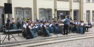 Musikkapelle Rimpar beim Schloßfest 2017 in Rimpar